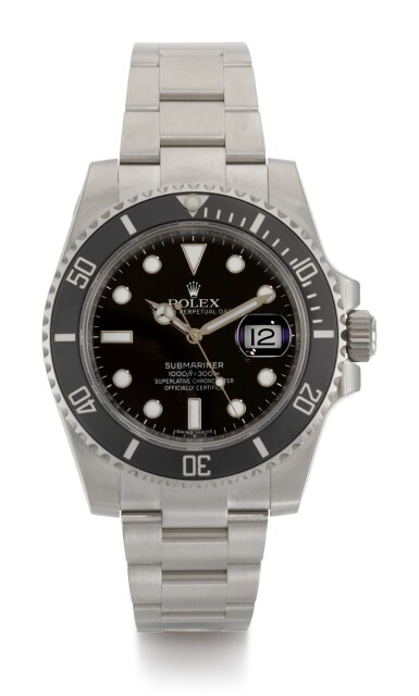 ROLEX | SUBMARINER 'SCHLUMBERGER', REFERENCE 116610LN, STAINLESS STEEL WRISTWATCH WITH DATE AND BRACELET, CIRCA 2018