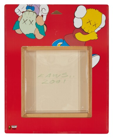View 4. Thumbnail of Lot 46. KAWS | UNTITLED (KIMPSONS) (Package Painting Series) 無題(KIMPSONS)(包裝畫系列).