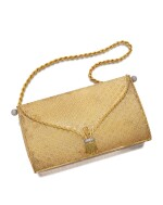 BOUCHERON | GOLD AND DIAMOND EVENING BAG |  寶詩龍 | 18K黃金 配 鑽石 晚宴手袋