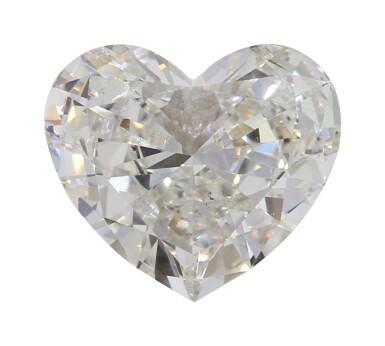 A 1.11 Carat Heart-Shaped Diamond, H Color, VS2 Clarity