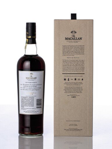 View 2. Thumbnail of Lot 5514. The Macallan Exceptional Single Cask 2017/ESB-9182/01 46.6 abv 1997 (1 BT75).