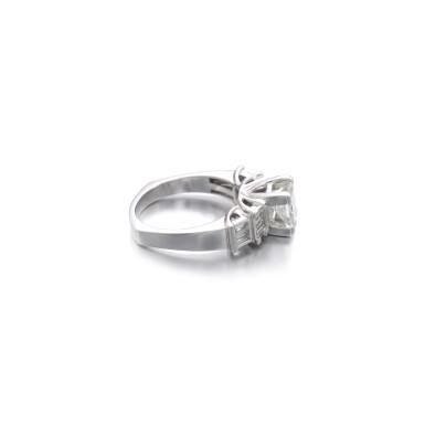 View 2. Thumbnail of Lot 1168. Diamond ring.