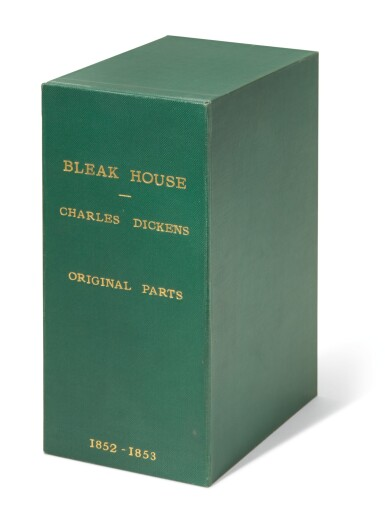 Dickens, Bleak House, 1852-1853, first edition, in the original 19/20 parts