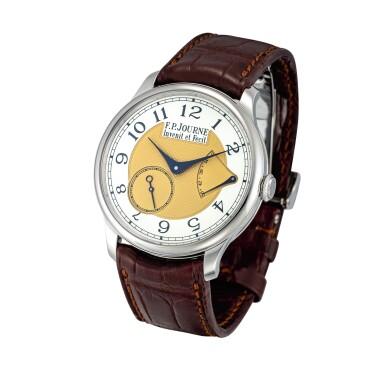 View 2. Thumbnail of Lot 2216. F.P. Journe | Chronomètre Souverain, A limited edition stainless steel wristwatch with power reserve indication, Circa 2015 | Chronomètre Souverain  限量版精鋼腕錶,備動力儲備顯示,約2015年製.