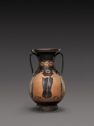 View 2. Thumbnail of Lot 56. An Apulian Red-figured Pelike, circa 350-330 B.C..