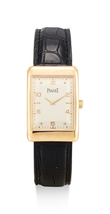 PIAGET | VINTAGE, REFERENCE 9952,  A PINK GOLD WRISTWATCH, CIRCA 1995