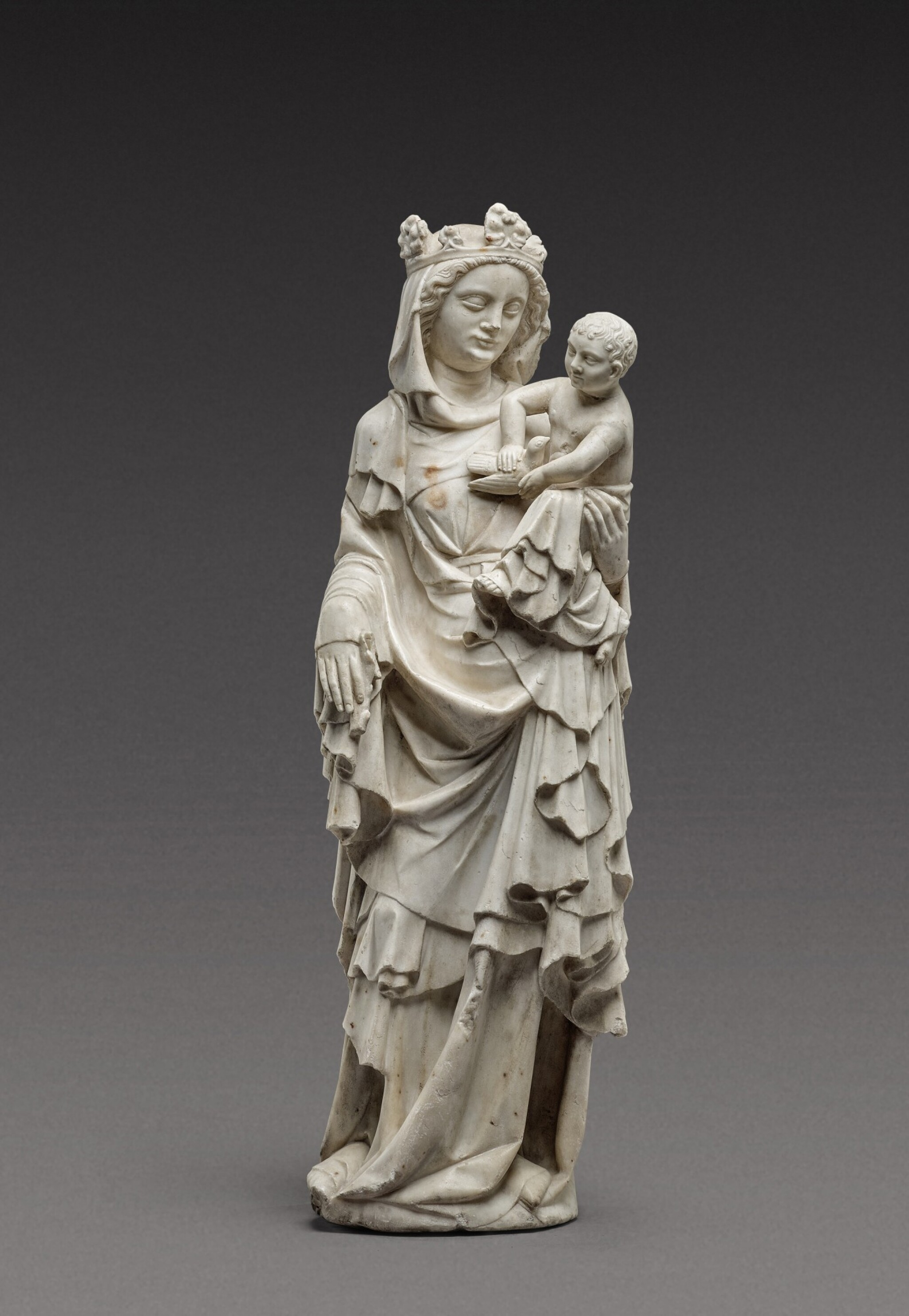 View 1 of Lot 124. French, Ile de France or Lorraine, second half 14th century | Virgin and Child.