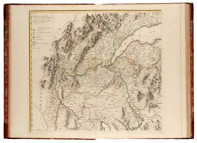 View 1. Thumbnail of Lot 27. DURY   A chorographical map of the King of Sardinia's dominions, 1765.