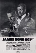 JAMES BOND 007, FILM FESTIVAL, LICENSED TO KILL (1983) POSTER, US