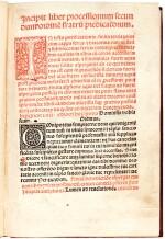 Processionarium ordinis Fratrum Praedicatorum, Seville, 1494, modern tooled calf