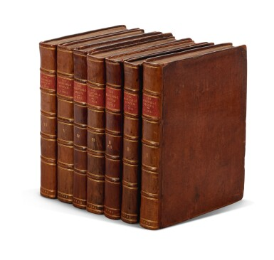 View 3. Thumbnail of Lot 15. Hill | The Vegetable System, 1759-1764, 6 volumes bound in 7.