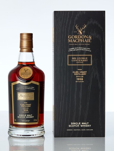 View 1. Thumbnail of Lot 7617. Glen Grant Gordon & MacPhail 62 Year Old Mr. George Centenary Edition 51.7 abv 1956 (1 BT70).