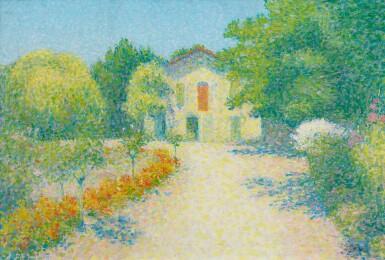 View 1. Thumbnail of Lot 40. ACHILLE LAUGÉ | L'ALOUETTE, MAISON DE L'ARTISTE À CAILHAU.