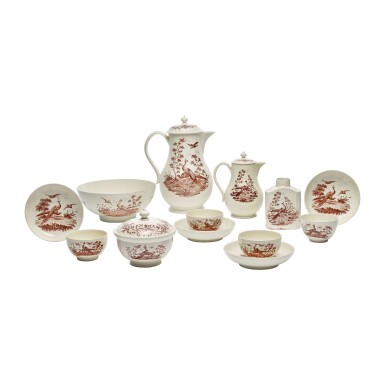 A WEDGWOOD CREAMWARE PART-TEA AND COFFEE SERVICE CIRCA 1770