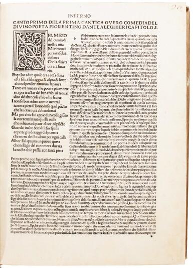 Dante, Commedia, Venice, 1484, modern crushed brown morocco