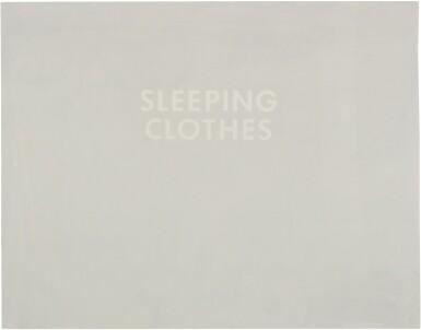 ED RUSCHA | SLEEPING CLOTHES