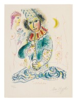 MARC CHAGALL |  THE CIRCUS: ONE PLATE (MOURLOT 527; SEE CRAMER BOOKS 68)