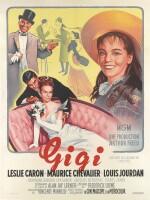 Gigi (1958) poster, French