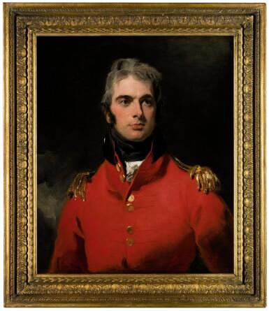 View 2. Thumbnail of Lot 30. Portrait of Lieutenant-General Sir Herbert Taylor (1775–1839) |《英國陸軍中將賀伯・泰勒(1775-1839)肖像》.