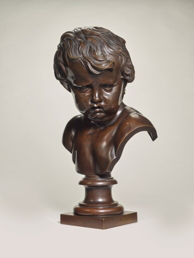 AFTER FRANCOIS DUQUESNOY (1597-1643), ITALIAN, ROMAN, 18TH CENTURY  | BUST OF CUPID