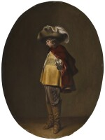 WILLEM CORNELISZ. DUYSTER | A young officer in profile