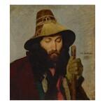 JEAN-LÉON GÉRÔME | PORTRAIT OF AN ITALIAN MAN