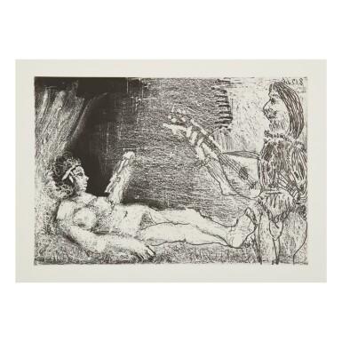 View 10. Thumbnail of Lot 169. PABLO PICASSO | LE COCU MAGNIFIQUE (B. 1244-1255; BA. 1432-1443; C. BKS 140).