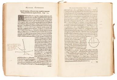 View 3. Thumbnail of Lot 11. Copernicus | De revolutionibus orbium coelestium, Nuremberg, 1543, later boards, Rostock duplicate.