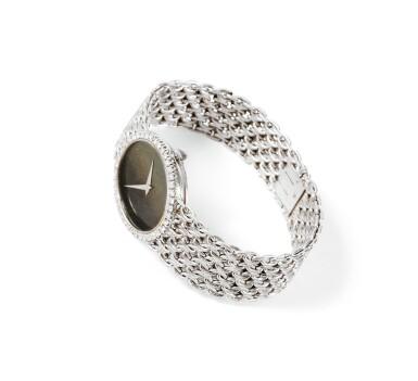 View 2. Thumbnail of Lot 125. Piaget | Montre bracelet de dame or et diamants | Lady's gold and diamond bracelet watch.