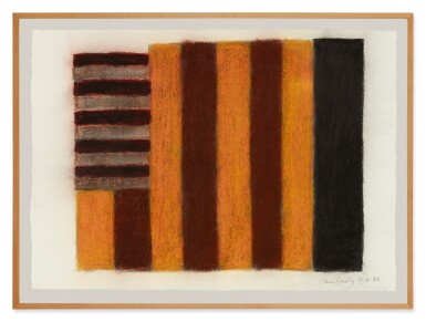 View 2. Thumbnail of Lot 215. SEAN SCULLY   10.6.86.