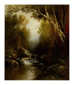 WILLIAM M. HART | A FOREST STREAM