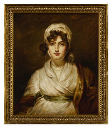 View 3. Thumbnail of Lot 114. Portrait of Sarah Siddons (1755 - 1831), bust-length.
