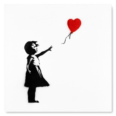 View 1. Thumbnail of Girl with Balloon.