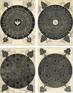 ALBRECHT DÜRER  |  INTERLACED CORD PATTERNS (B. 140, 142-143, 145; M. 274, 276-277, 279)