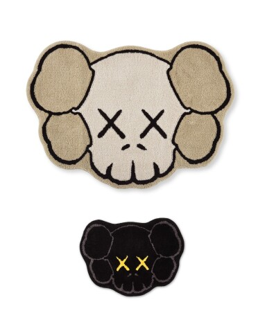 KAWS | OriginalFake X Gallery 1950 地毯系列(灰與黑)OriginalFake X Gallery 1950 Rug Collection (Grey & Black)
