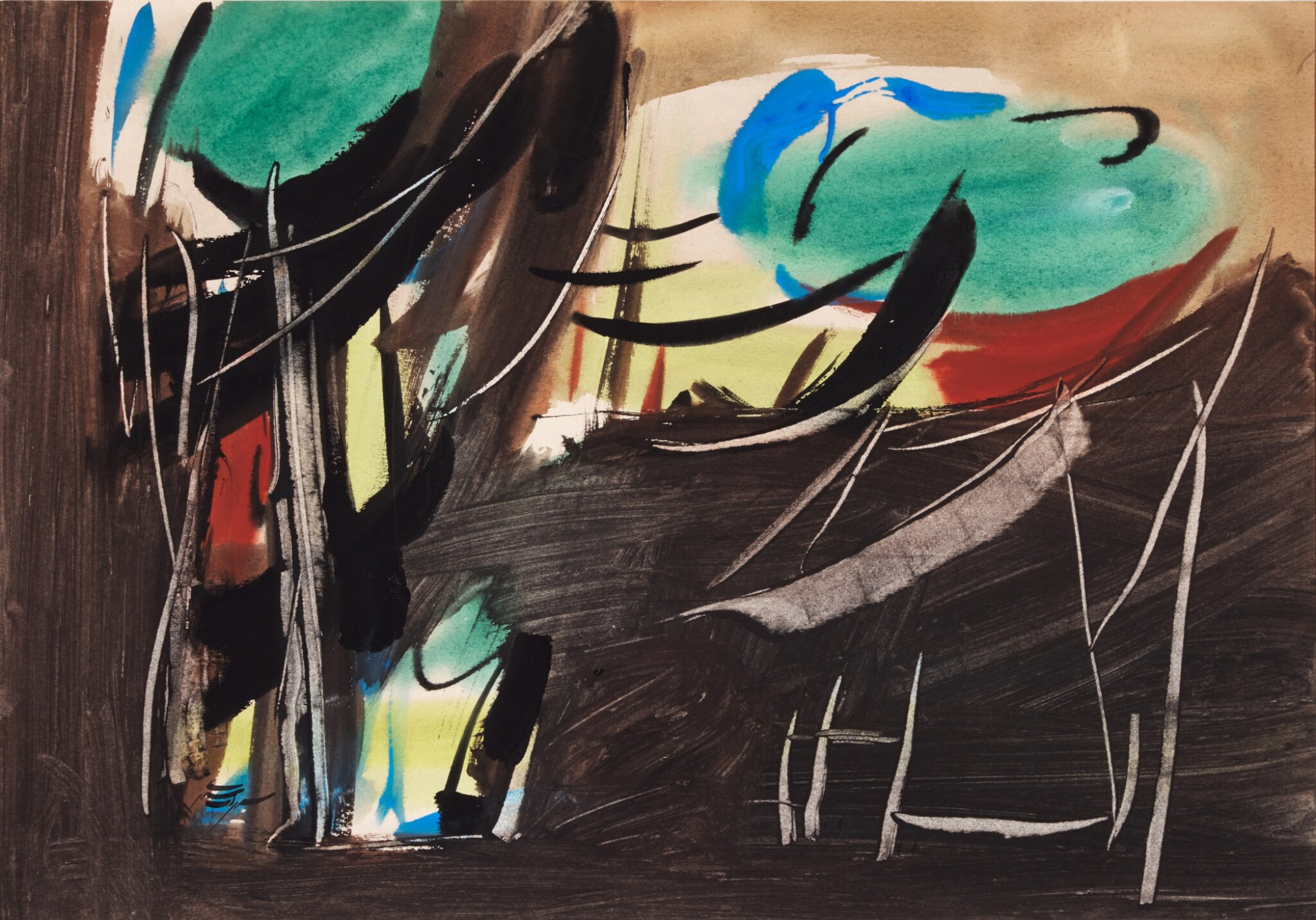 View full screen - View 1 of Lot 47. SOHRAB SEPEHRI   UNTITLED.