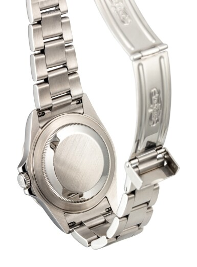 View 3. Thumbnail of Lot 604. ROLEX   EXPLORER II, REFERENCE 16570,  A STAINLESS STEEL WRISTWATCH WITH DATE, 24 HOURS INDICATION AND BRACELET, CIRCA 2008.