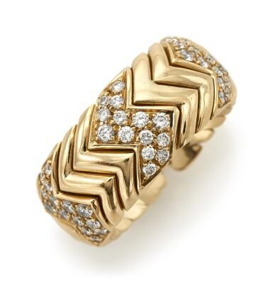 DIAMOND RING 'SPIGA' (ANELLO CON DIAMANTI 'SPIGA') , BULGARI