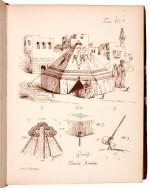 Castellazzi. Ricordi di Architettura. 1871, folio, presentation copy to Prince Ernest Augustus of Hanover