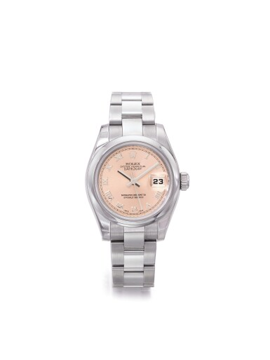 ROLEX | REF 179160 DATEJUST, A STAINLESS STEEL AUTOMATIC CENTER SECONDS WRISTWATCH WITH DATE AND BRACELET CIRCA 2006