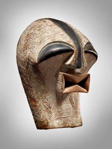 View 3. Thumbnail of Lot 76. Songye Mask, Democratic Republic of the Congo.