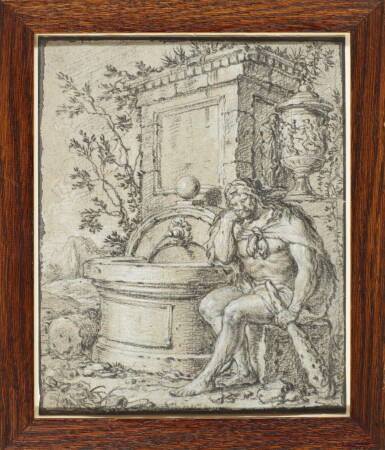 View 2. Thumbnail of Lot 544. FRENCH SCHOOL, CIRCA 1700 | Hercules resting by a fountain.