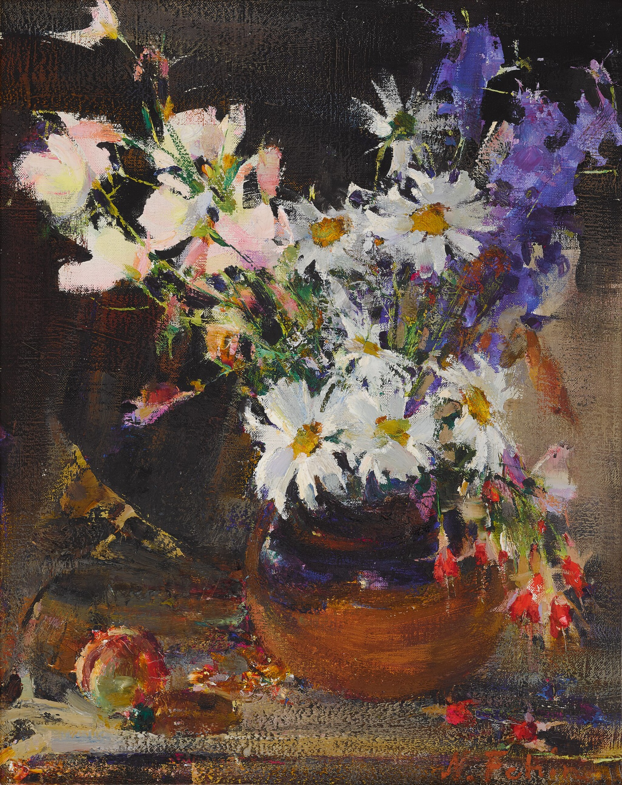 View full screen - View 1 of Lot 45. Floral Still Life.
