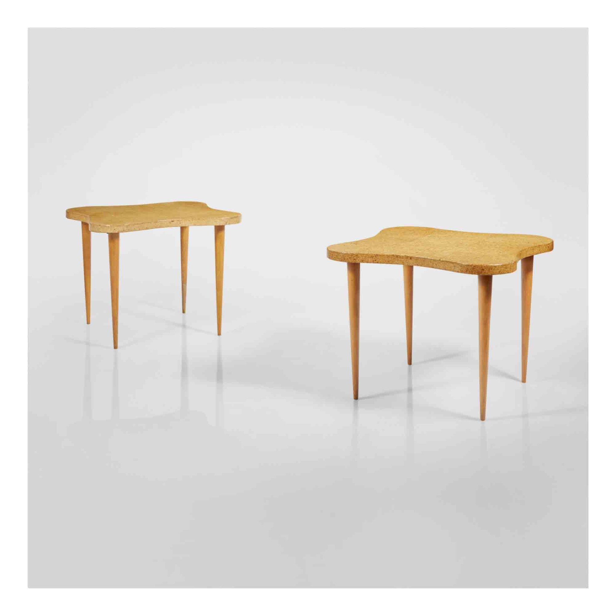 View full screen - View 1 of Lot 354. A Pair of Important Side Tables.