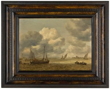 View 2. Thumbnail of Lot 21. JAN JOSEFSZ. VAN GOYEN  |  COASTAL SCENE WITH SMALL VESSELS IN A CHOPPY SEA.