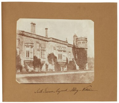 View 6. Thumbnail of Lot 11. William Henry Fox Talbot's Gifts to his Sister: Horatia Gaisford's Collection of Photographs and Ephemera.