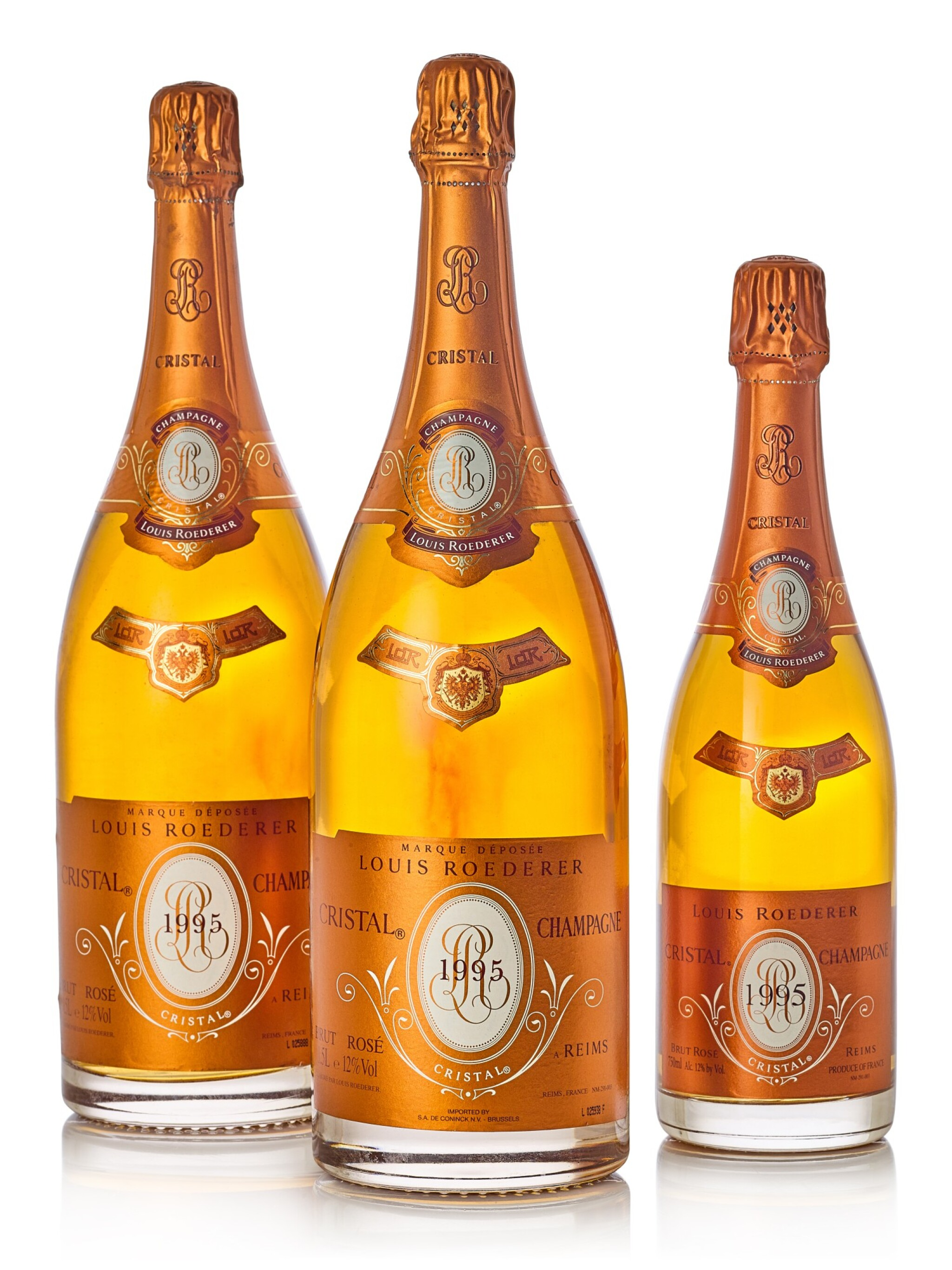 View 1 of Lot 8196. Louis Roederer, Cristal Brut Rosé 1995  (4 MAG) .