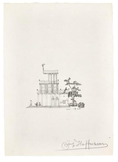 View 6. Thumbnail of Lot 92. Vienna. Autograph manuscripts by Bartok, Berg, Schoenberg, Strauss, Webern, Kokoschka, Schnitzler etc to D.J. Bach, 1924.
