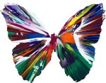 Damien Hirst 達米恩・赫斯特 | Untitled (Butterfly Spin Painting) 無題(蝴蝶旋轉畫)
