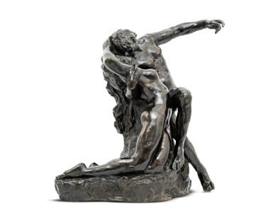 View 2. Thumbnail of Lot 1036. Auguste Rodin 奧古斯特・羅丹 | Éternel Printemps, premier état, taille originale - variante type A 永恆之春.
